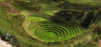 unusual Inca ruins
