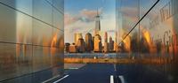 city and 9/11 Memorial 20074000364| 写真素材・ストックフォト・画像・イラスト素材|アマナイメージズ