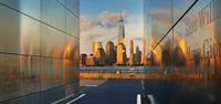 city and 9/11 Memorial