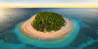 island from above 20074000385| 写真素材・ストックフォト・画像・イラスト素材|アマナイメージズ