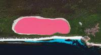 pink lake 20074000414| 写真素材・ストックフォト・画像・イラスト素材|アマナイメージズ