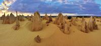 desert sculptures of the Pinnacles 20074000417| 写真素材・ストックフォト・画像・イラスト素材|アマナイメージズ