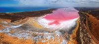 pink lagoon 20074000422| 写真素材・ストックフォト・画像・イラスト素材|アマナイメージズ