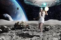 Fly me to the Moon by Benjamin Kanarek 1.tif 20075003513| 写真素材・ストックフォト・画像・イラスト素材|アマナイメージズ