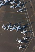 Aerial Human Footprint 空から見た人間の足跡