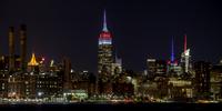 Empire State Tony エンパイアステートビルディングの夜景