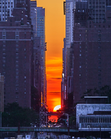 Manhattanhenge マンハッタンヘンジ