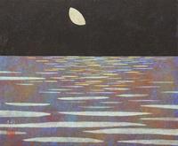月夜の海 20084000034| 写真素材・ストックフォト・画像・イラスト素材|アマナイメージズ
