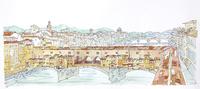 ベッキオ橋 20084000047| 写真素材・ストックフォト・画像・イラスト素材|アマナイメージズ