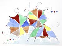カラフルな傘 20084000059| 写真素材・ストックフォト・画像・イラスト素材|アマナイメージズ