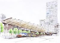 東京駅八重洲口 20084000060| 写真素材・ストックフォト・画像・イラスト素材|アマナイメージズ