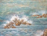 潮音(部分) 20084000070| 写真素材・ストックフォト・画像・イラスト素材|アマナイメージズ