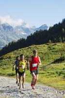 Europe, France, Haute Savoie, Rhone Alps, Chamonix, Chamonix trail running marathon 20088031885  写真素材・ストックフォト・画像・イラスト素材 アマナイメージズ