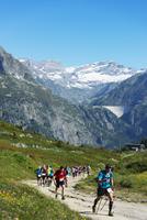Europe, France, Haute Savoie, Rhone Alps, Chamonix, Chamonix trail running marathon 20088031886  写真素材・ストックフォト・画像・イラスト素材 アマナイメージズ
