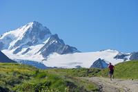 Europe, France, Haute Savoie, Rhone Alps, Chamonix, Chamonix trail running marathon 20088031887  写真素材・ストックフォト・画像・イラスト素材 アマナイメージズ