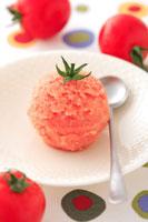 トマトのシャーベット 21002000439| 写真素材・ストックフォト・画像・イラスト素材|アマナイメージズ