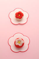 梅の和菓子 21002003746| 写真素材・ストックフォト・画像・イラスト素材|アマナイメージズ