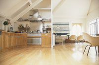 キッチンとリビングルームイメージ 21007000447| 写真素材・ストックフォト・画像・イラスト素材|アマナイメージズ