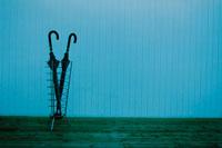 傘立ての2本の傘 21007004375| 写真素材・ストックフォト・画像・イラスト素材|アマナイメージズ