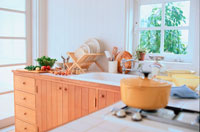 キッチンとキッチン用品
