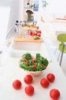 キッチンと野菜