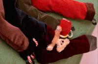 テディベアと靴下