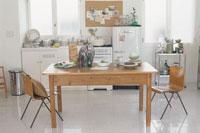 キッチンのテーブル