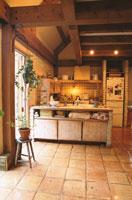 キッチン 21020000131  写真素材・ストックフォト・画像・イラスト素材 アマナイメージズ