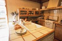 キッチン 21020000136  写真素材・ストックフォト・画像・イラスト素材 アマナイメージズ