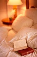 ベッドと本