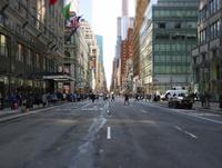 マンハッタンのストリート2 21026000189| 写真素材・ストックフォト・画像・イラスト素材|アマナイメージズ
