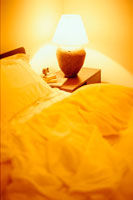 ベッドとスタンド