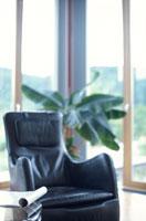 ソファと植物