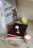 本と鍵とキャンドル
