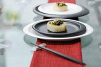皿の上の大根料理 21090001015| 写真素材・ストックフォト・画像・イラスト素材|アマナイメージズ
