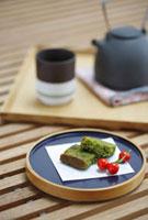 和菓子とお茶セット
