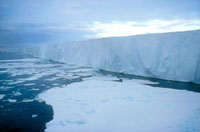 Part of the massive iceberg B15,at this time it was 90 mil