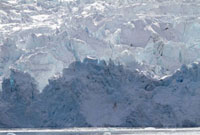 Drygalski Glacier,which receded 300 metres between Novembe