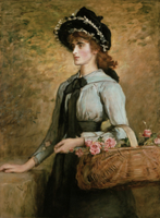 Sweet Emma Morland by Millais