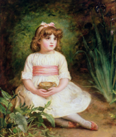 The Nest by Millais