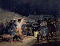 Execution of the Defenders of Madrid,3rd May,1808,1814 /1