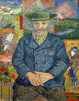 Pere Tanguy /タンギー爺さんの肖像(ジュリアン・タンギーの肖