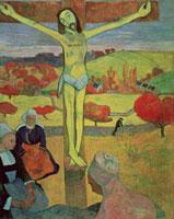 Yellow Christ,1889 /黄色いキリスト 22040001725| 写真素材・ストックフォト・画像・イラスト素材|アマナイメージズ