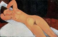 Nude, 1917