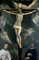 The Crucifixion with Two Donors