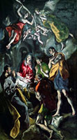 The Adoration of the Shepherds,from the Santo Domingo el A