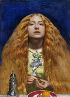 The Bridesmaid by Millais