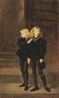 The Princes Edward and Richard in the Tower,1878 /ロンドン
