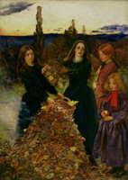 Autumn Leaves by Millais
