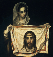 St.Veronica with the Holy Shroud